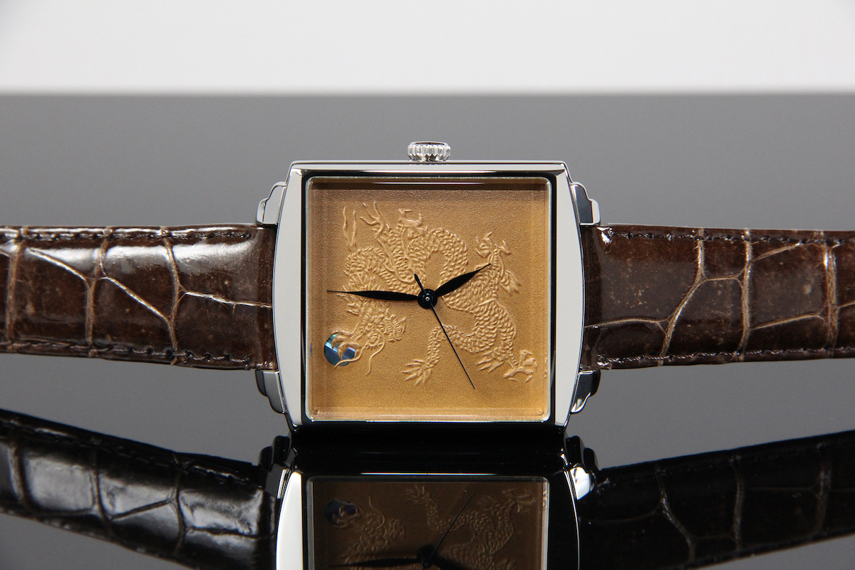 Urushi maki-e watches [JOGA]Gold Dragon