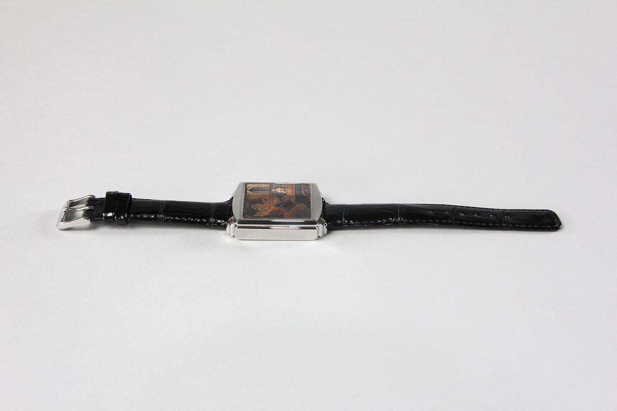 Urushi maki-e watches [Joga] Dragon