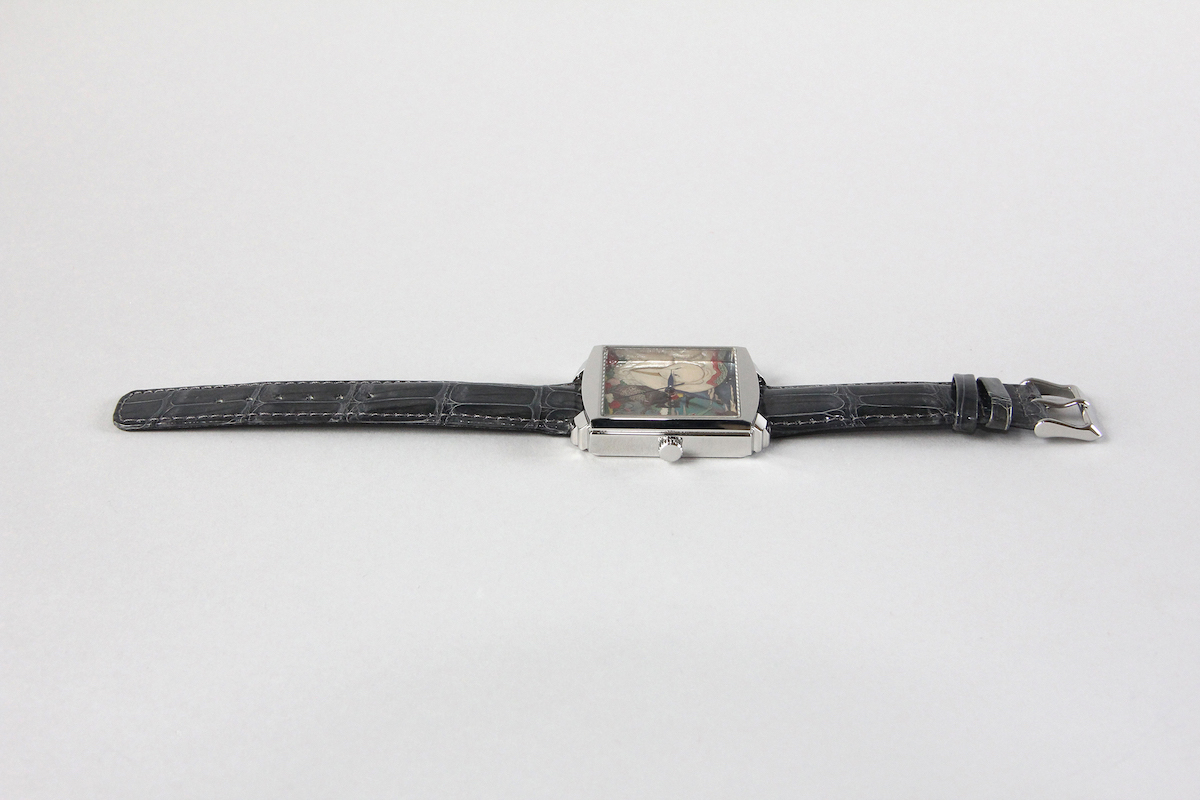 Urushi maki-e watches [Joga] Jakuchu's Birds, Animals, and Flowering Plants -Taka maki-e-
