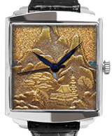 Maki-e watch [Mountain and Waterscape]