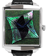 Maki-e watch[Abstract Art A]
