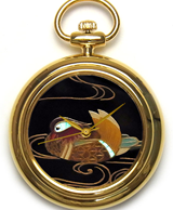 Maki-e watch[Mandarin duck]