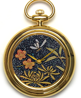 Maki-e watch[Shikunshi (Plum, Bamboo, Orchid, and Chrysanthemum) 2]